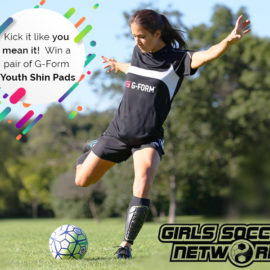 """G-Form Shin Guard """"Back to Soccer"""" Giveaway!"""