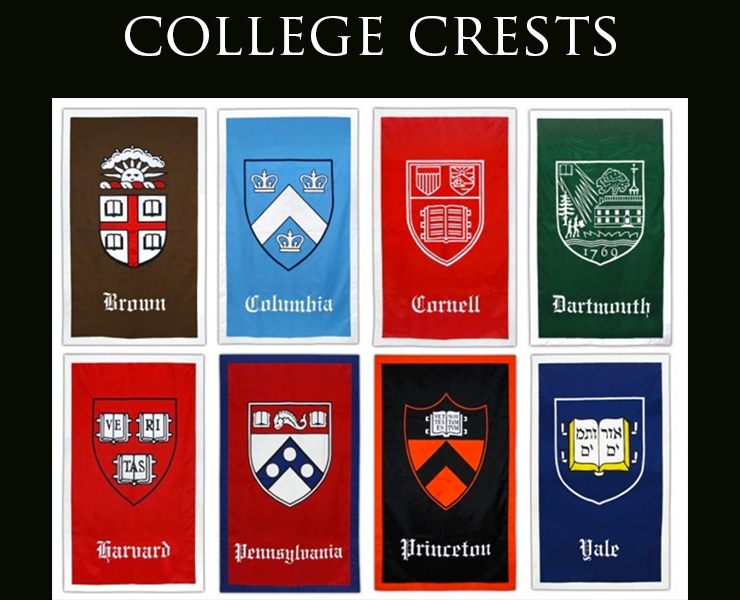 A History of College Crests